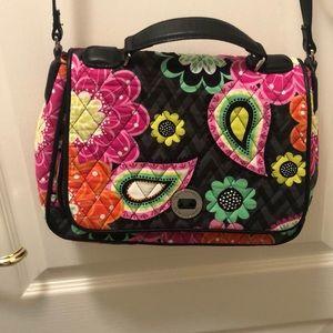 Colorful Vera Bradley purse.